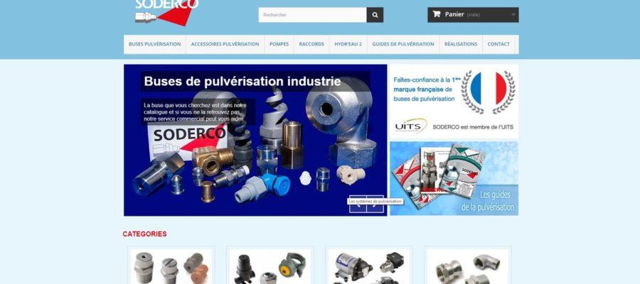 Pulvérisation industrielle SODERCO
